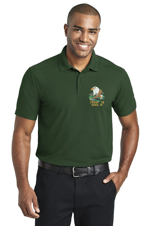BSA Troop 19 Polo (Mens and Womans)