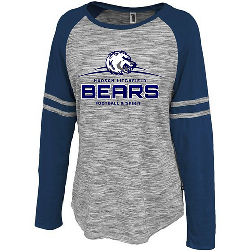 Hudson-Litchfield Bears Space Dye Long Sleeve