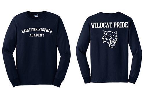 Saint Christopher Academy Long  Sleeve T Shirt