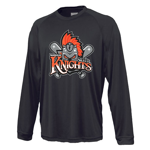 Nashua Silver Knights Long Sleeve Power Tee