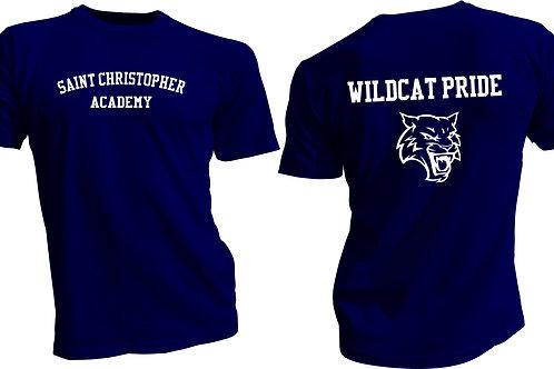 Saint Christopher Academy Short Sleeve T Shirt