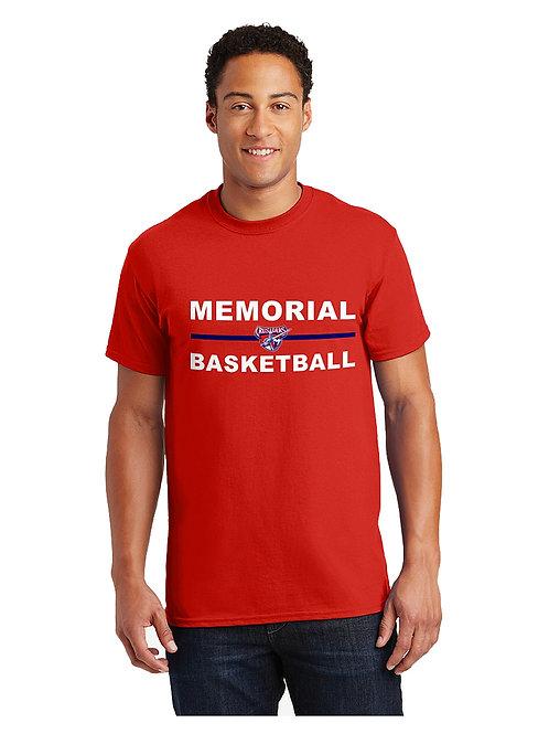 Memorial Basketball Short Sleeve T-Shirt