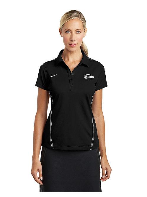 BDS Nike Ladies Dri-FIT Sport Swoosh Pique Polo