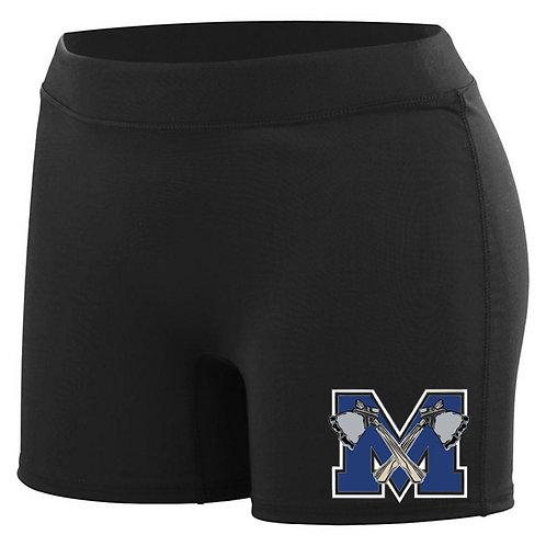 Merrimack Cheer Compression Shorts