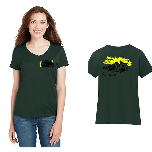 BSA Troop 19  Ladies Short Sleeve Cotton Shirt