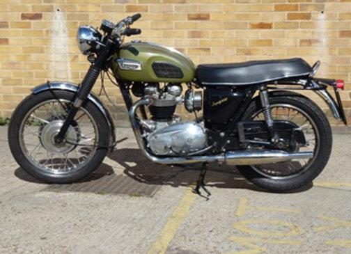 Triumph TR6 1970 UK spec