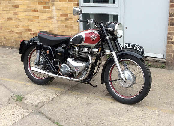 Matchless G9 deluxe 500cc 1954