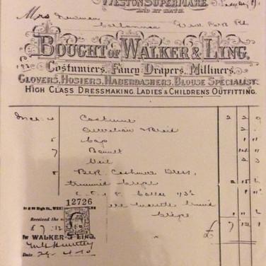 A receipt c.1910
