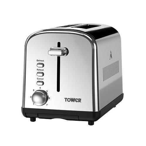 Tower Infinity 2 Slice Toaster