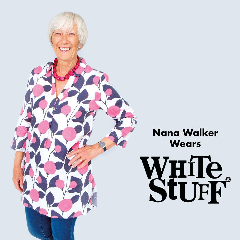 Nana Walker wears White Stuff