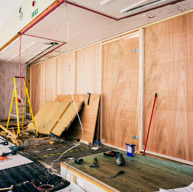 Building work begins
