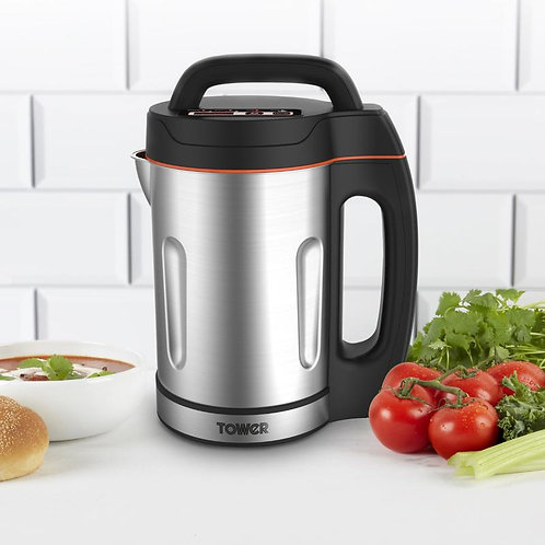 Tower 1.6L Stainless Steel Soup Maker