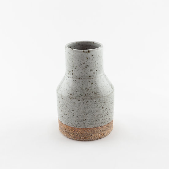 Angled Granite Vase