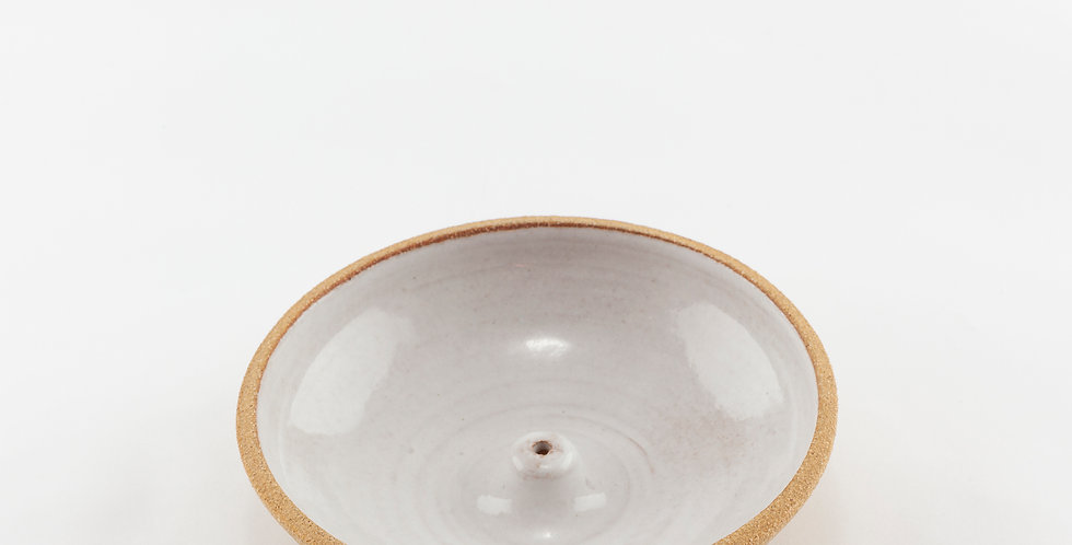 White Incense Bowl