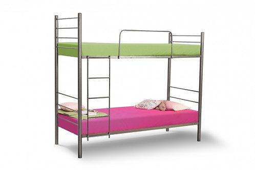 """Кровать """"ЮНГА"""" двухъярусная с основанием из ламелей"""