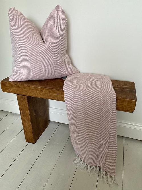 'Good As I' Blush Pink Cushion
