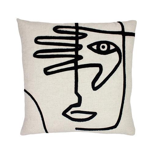 Mono Face Cushion