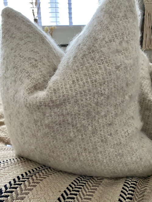 'Boucle' Clay - Duck Feather Cushion
