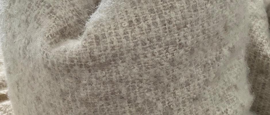 'Boucle' Clay - Duck Feather Cushion