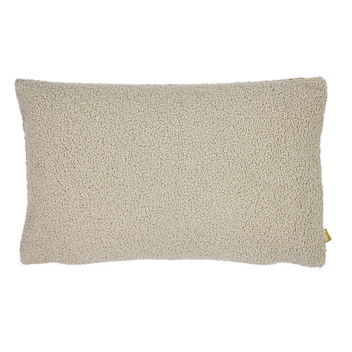 Boucle Latte Cushion