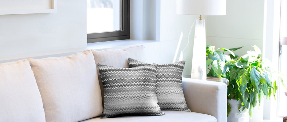 'Jacquard ' Cushions - Duck Feather Filled