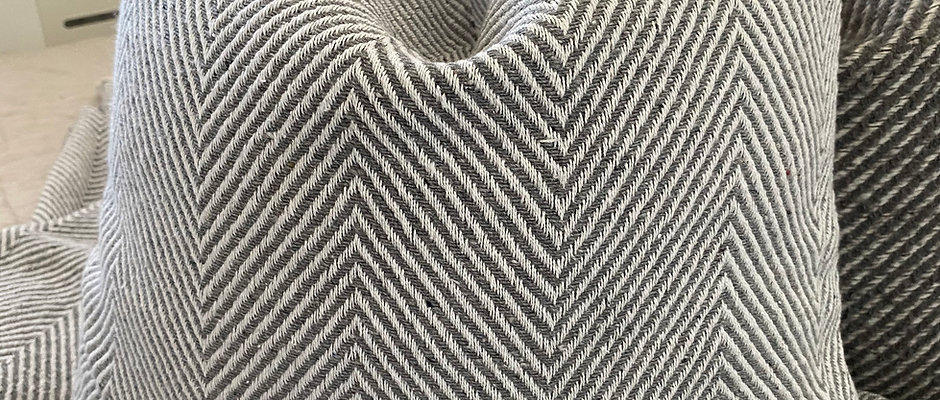 'Good As I' Light Grey Cushion