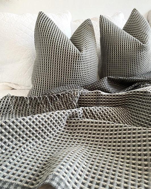 Rowan Throw - Grey