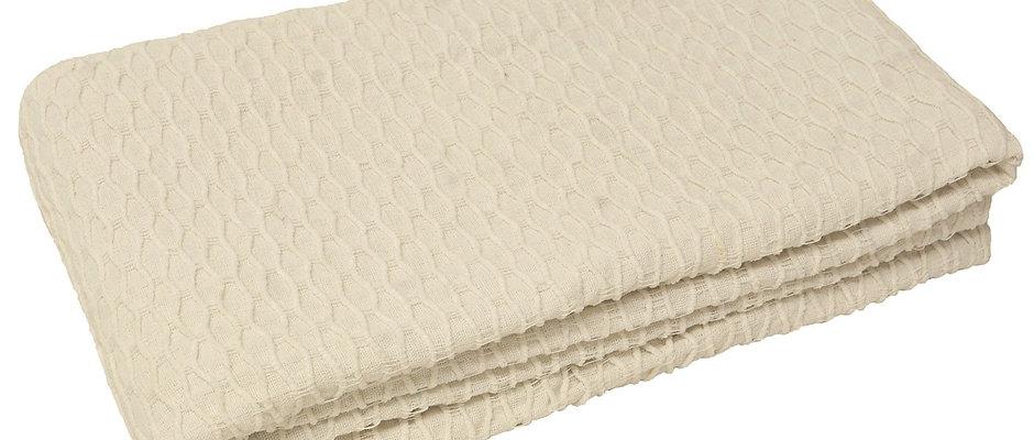 Carmel Throw - White