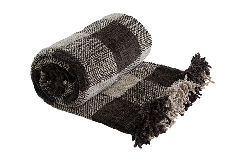 'STOP IT' Chenille Throw - variety of colours