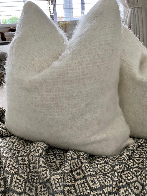 'Boucle' Linen - Duck Feather Cushion