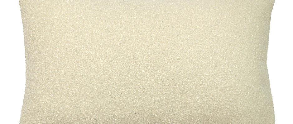 Boucle Ivory Cushion