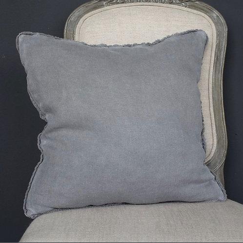 French Border Grey Cushion