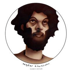 Robert Grossman self portrait