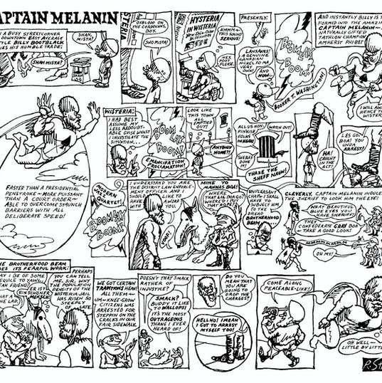 Captain Melanin, the first Black superhe