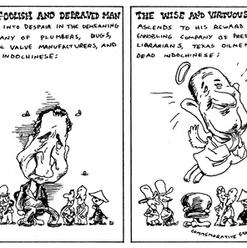 Nixon and LBJ, NY Magazine