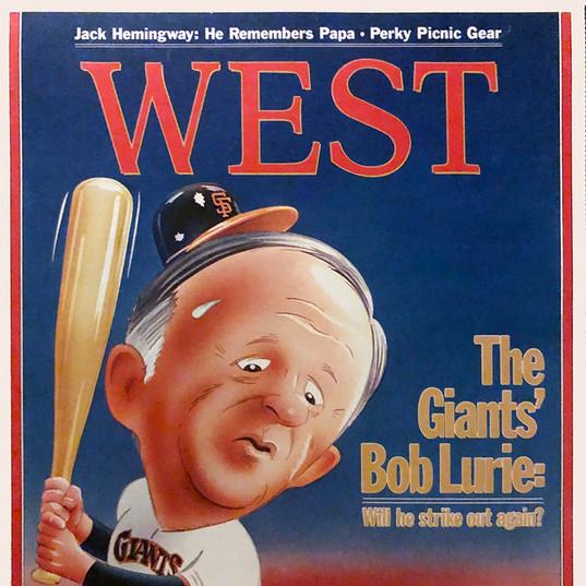 Bob Kurie, West magazine cover