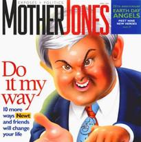 Newt Gingrich, Mother Jones