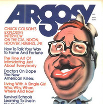 Chuck Colson, Argosy magazine cover