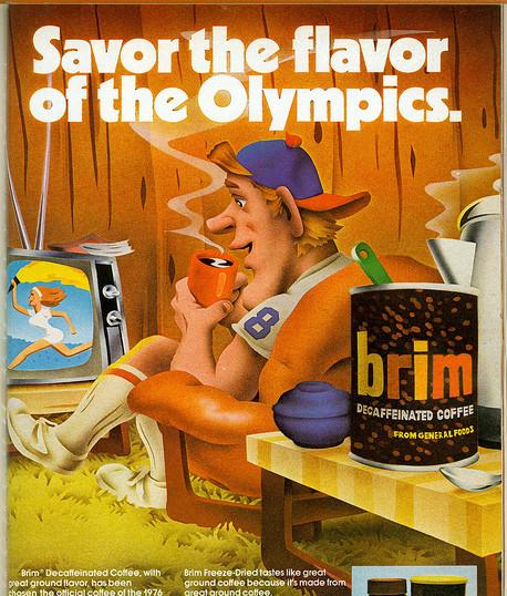 Brim, Savor the Flavor advertisement
