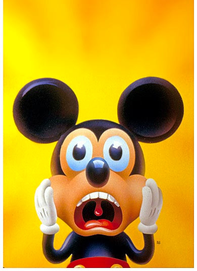 Screaming Mickey, Newsweek