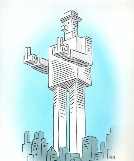 Rebuilt WTC idea