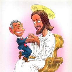 Bush Jr. and Jesus