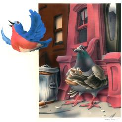 Bluebird named NY State Bird, NY Magazin
