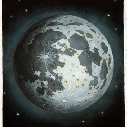 """painting from """"Life on the Moon"""""""