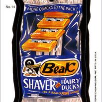 Beak Shaver, Wacky Packages