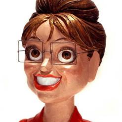Sarha Palin bust