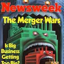 newsweek cover, The Merger Wars.jpg