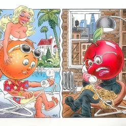 Orange vs Apple