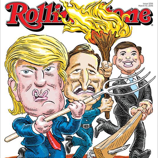 Trump Unbound, Rolling Stone