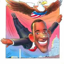 Flying Obama